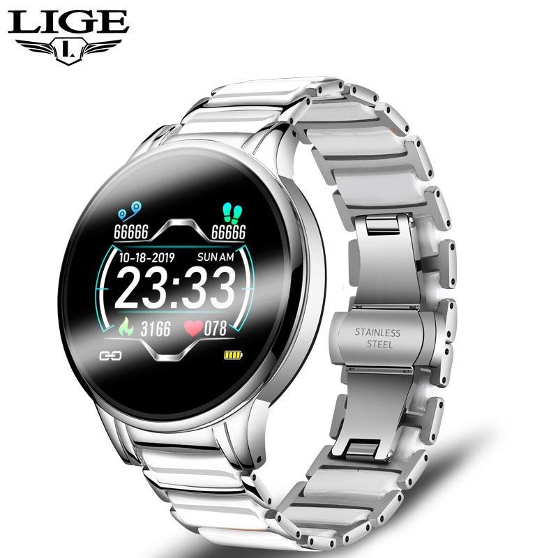 LIGE Luxury išmanusis laikrodis